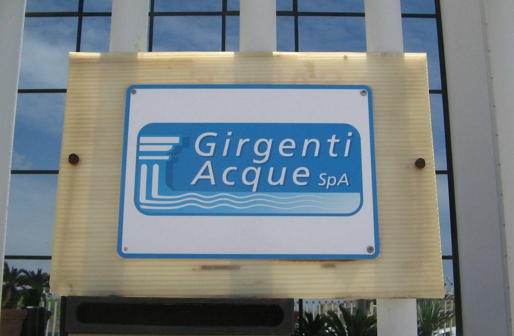 Commissariamento della gestione dei depuratori a Girgenti Acque. Nota della società