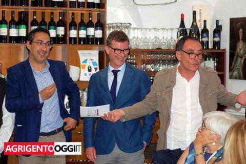 Festival Strada degli scrittori, le immagini della cena dedicata a Leonardo SciasciaMessana, Picone, Collura (1)