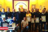 Mario Finocchiaro, riconoscimenti Questura di Agrigento18589100_1754145088141216_5643556921320067703_o