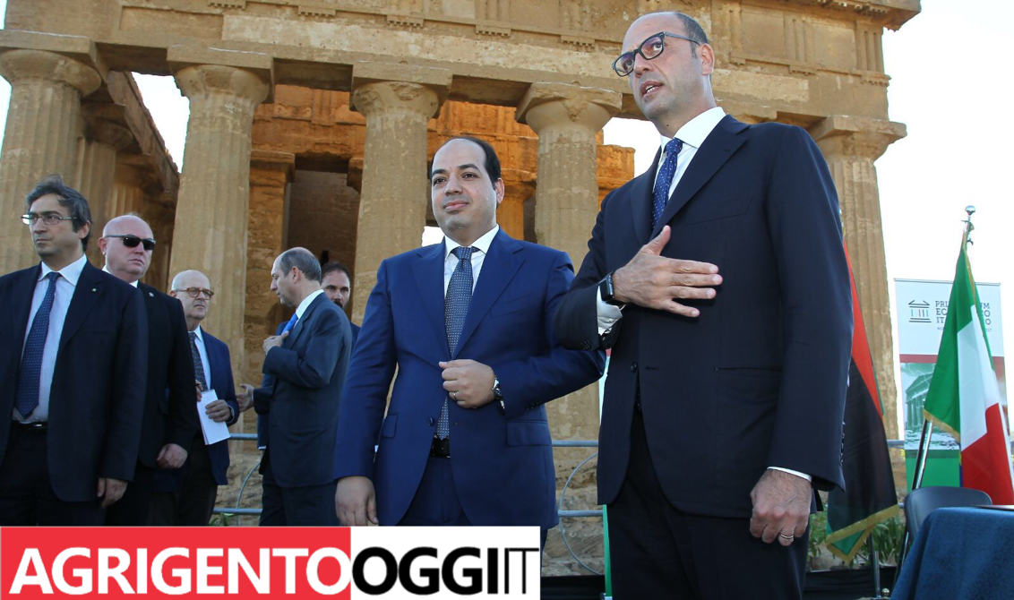 Forum italo-libico ad Agrigento, Alfano: