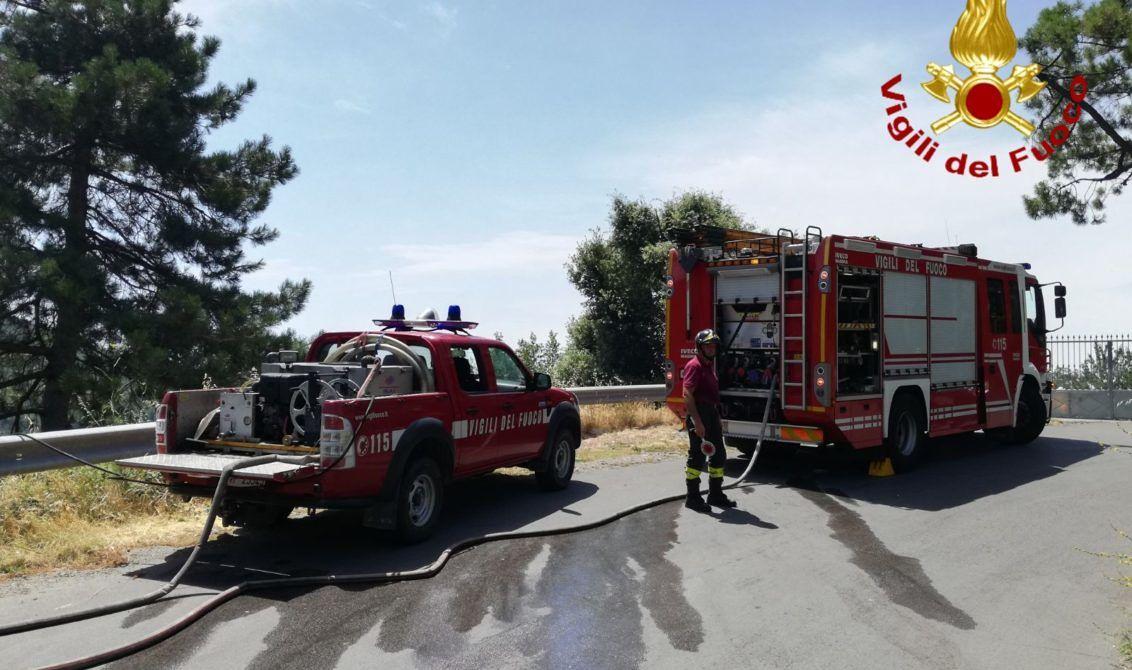 vigili del fuoco incendi