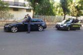 Guardia finanza sequestra 100 auto per violazioni codice strada