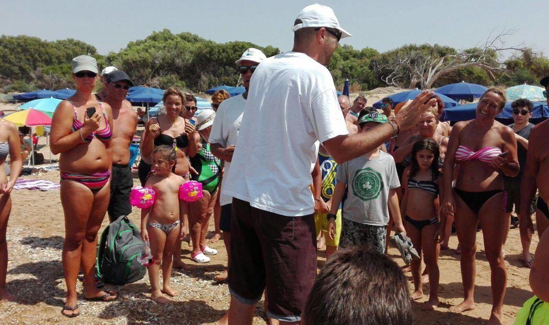 A Castellaneta Marina nate prime 38 tartarughine