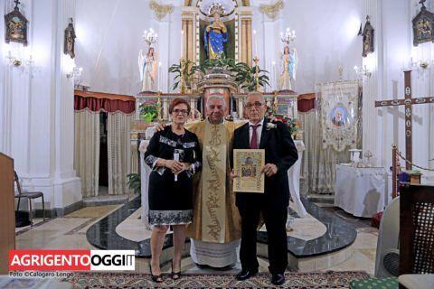 Nozze d'oro a Favara: 50 anni di matrimonio per Mimmo e Santina.